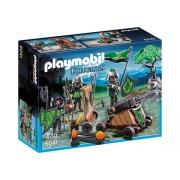 Cavaleri lupi cu catapulta Knights Playmobil