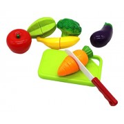 Little Treasures Delicious Playfully Fresh Fruit & Vegies Play Set For Kids