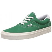 Vans Men's Era 59 10 Oz Canvas Verdant Green and Marshmallow Canvas Sneakers - 11 UK