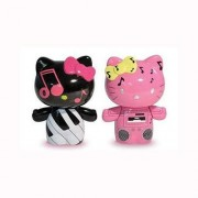 Hello Kitty Urban Vinyl Figures Piano Kitty & Boom Box Mimmy