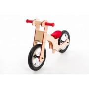 Bicicleta de balans din lemn pentru copii 36luni+ Pipello Red