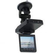 EY Cámara De Seguridad Para Auto DVR De 270° Con Pantalla LED 2.5' TFT-Negro
