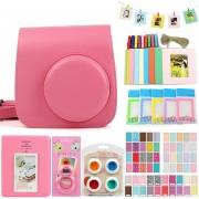 Bolsa Para Fuji Mini8/8+/9 Conjunto Para Fotos - Rosa