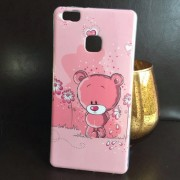 Husa Huawei P9 Lite Silicon TPU Gel Model GLY Love Pink Bear