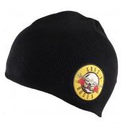 kulich Guns N' Roses - Bullet Logo Cotton - Black - ROCK OFF - GNRBEAN01