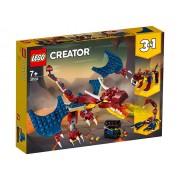 DRAGON DE FOC - LEGO (31102)