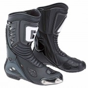 Cizme Moto Sport din Piele & Textil GAERNE G-RW AQUATECH · Negru