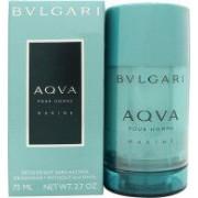 Bvlgari Aqva Marine Desodorante en Barra 75ml