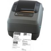 Stampante GX43-102421-150 con spellicolatore, sensore mobile e memoria espandibile 300dpi Ethernet Trasferimento termico Zebra G