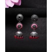 Voylla Rangabati Layered Drop Earrings