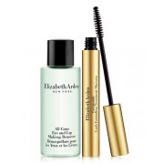 ELIZABETH ARDEN CERAMIDE LASH EXTEND TREATMENT MASCARA NEGRA + ALL GONE EYE AND LIP REMOVER 50 ML SET