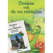 Personlig bok med egen bild, Draken och de tre riddarna