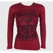 hardcore póló női - Heaven Sinners Red - SE7EN DEADLY - SE035