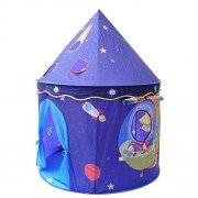 Eggsnow Kids Play Tent Pop Up Children Play House for Princess & Prince Folding Space Castle --Portable for Indoor and Outdoor Fun Plays