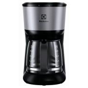 Cafetiera Electrolux Love your day EKF3700, 1100 W, 1.65 l, 12 cesti, anti-picurare, auto-off 40 min (Negru/Inox)