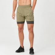 Myprotein Power Shorts - M - Light Olive