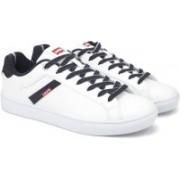 Levi's HENRY DENIM Sneakers For Men(White)