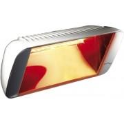 Incalzitor cu infrarosii Heliosa Design 66 2kW, Culoare alb, IPX5, Fabricatrie Italia. Interior si exterior, Rezistent la apa