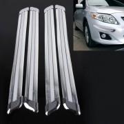 4 STKS Universele Auto Auto Plastic Wrap Rubber Voor Achter Body Bumper Guard Protector Strip Sticker