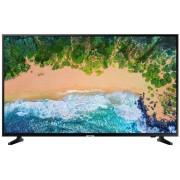 Televizor LED Samsung 55NU7093, 138 cm, Smart, 4K Ultra HD, PQI 1300, HDR, HDMI, Wi-Fi, Clasa energetica A, Negru