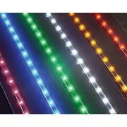 LED Light Strip - 35 - 54 Blue Lights - Package of 2 Strips