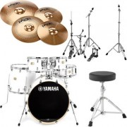 Yamaha Stage Custom Studio -PW Bundle