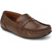 BB LAA Bright Loafers For Men(Brown)