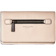 Marc Jacobs Gotham Flat Phone Pouch Pale Pink