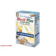 BLEVIT PLUS LECHE S/G 350 368225 BLEVIT PLUS APTO DIETAS SIN GLUTEN C LECHE - (350 G )