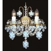 Crystal wall sconce 4024 02HK-3635