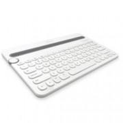 Клавиатура Logitech K480, мултифункционална, бяла, Bluetooth