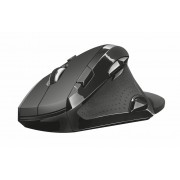 Mouse, TRUST Vergo, Wireless, Ergonomic Comfort, Black (21722)