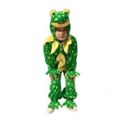 Merkloos Pluche kostuum kikker voor kinderen