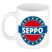 Bellatio Decorations Seppo naam koffie mok / beker 300 ml