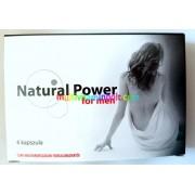 Natural Power for Men 6 db kapszula, potencianövelő, vágyfokozó, új csomagolásban