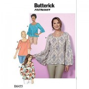 """Butterick Schnitt B6455 """"Carmen-Bluse"""""""