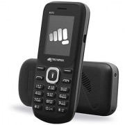 Micromax X072 Dual Sim Mobile Phone Black