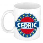 Bellatio Decorations Voornaam Cedric koffie/thee mok of beker