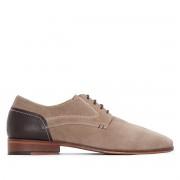 La Redoute Collections Sapatos estilo derbies, pele, com atacadores