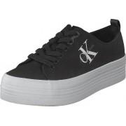 Calvin Klein Jeans Zolah Black, Skor, Sneakers & Sportskor, Sneakers, Svart, Dam, 39
