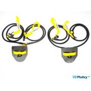 Posilňovacie prsiarské gumy obtiažnosť: stredná žltá