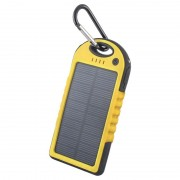 Forever STB-200 Solar Power Bank - 5000mAh - Yellow