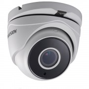 Camera supraveghere Dome Hikvision TurboHD DS-2CE56F7T-IT3Z, 3 MP, IR 40 m, 2.8 - 12 mm