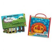 Melissa & Doug Ks Kids Soft Activity Book Bundle - Animals