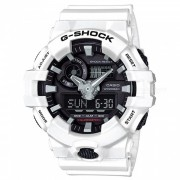 reloj digital casio g-shock GA-700-7A-blanco