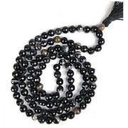Natural Agate mala original & unheated beads mala by Jaipur Gemstone