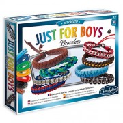 SentoSphere Creative - Just for Boys - DIY Bracelets Arts and Crafts Kit