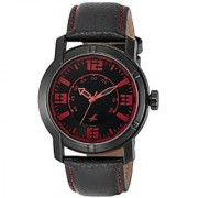 Fastrack Quartz Black Dial Mens Watch-3021NL01