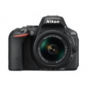 Nikon d5500 + 18-55mm af-p dx vr - nero - manuale in italiano