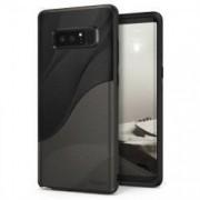 Husa Ringke Wave Negru cu Gri Pentru Samsung Galaxy Note 8 N950
